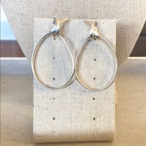 Stacey Knot Hoops